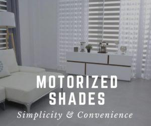 Massachusetts Motorized shades
