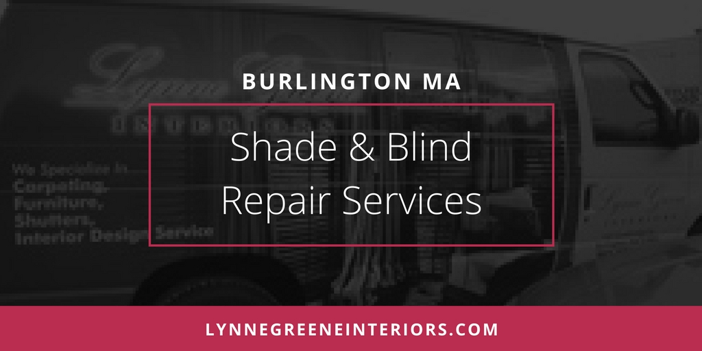Shade and blind repair services