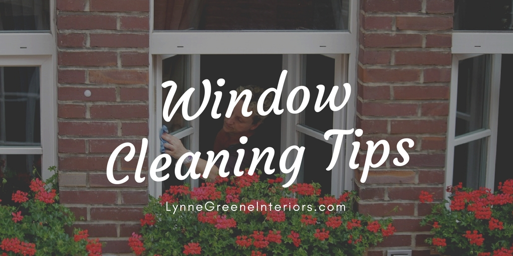 Spring window cleaning tips