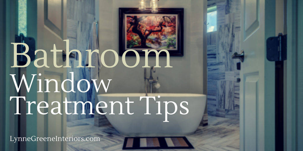 Bathroom Window Treatment Tips
